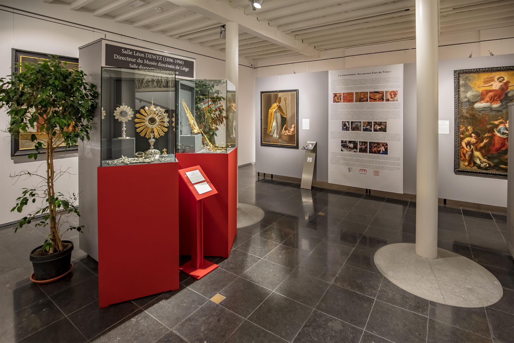 Nouvelle exposition la restauration des uvres d art du for Jardin expo 2016 liege